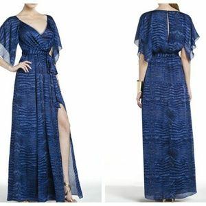 BCBGMaxazria Madeleine Crocodile Print Dress